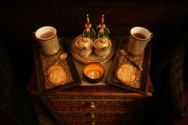 Traditionelles Thailändisches Geschirr